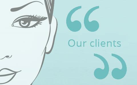 skin clinic testimonials