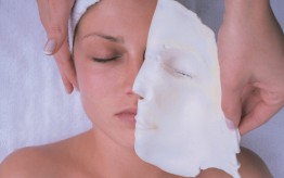 environ active vitamin treatment - removing mask